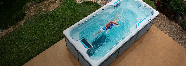 endless pool swim spa. E500 \u2013 15\u0027 Endless Pools Fitness System Pool Swim Spa