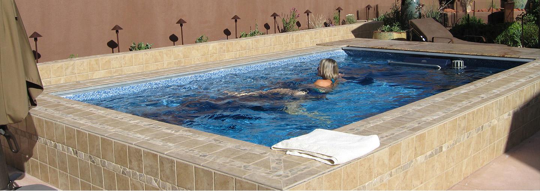 Endless Pools Small Swimming Machines Swim Current Pools